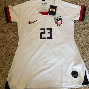 Nike Christen Press Jersey And Shorts
